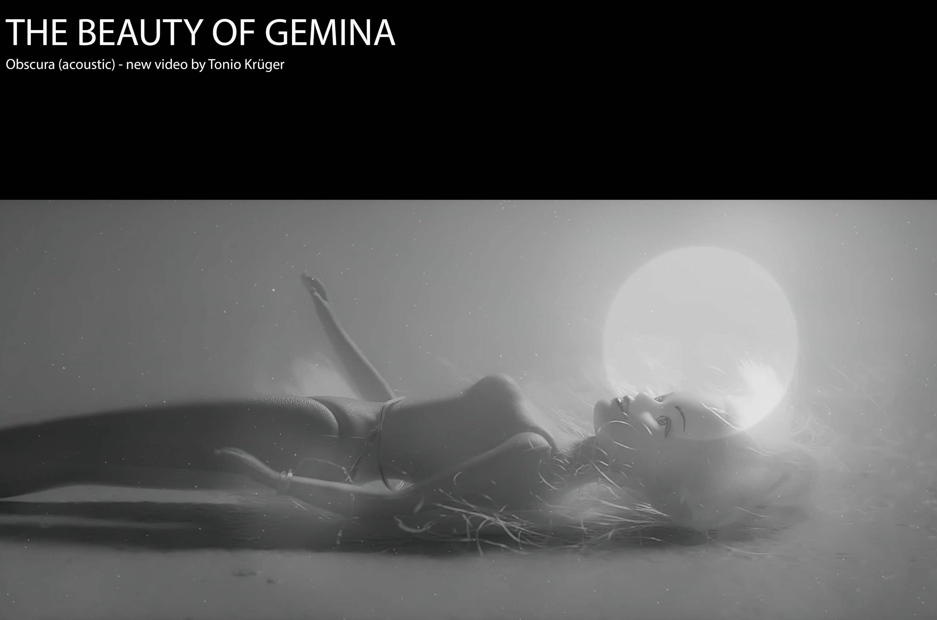 The Beauty Of Gemina - Obscura (Acoustic Version - Official Video)