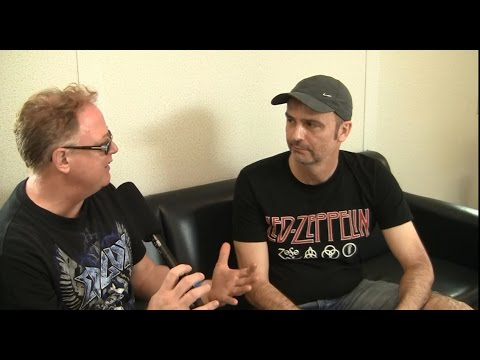 Blind Guardian- Interview ( Hansi Kürsch) at Heavy Montreal 2016- The Metal Voice