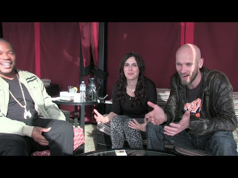 Within Temptation ft. Xzibit - the interview pt. 2