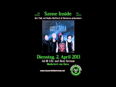 Radio HaZZard Of Darkness - Interview mit Lost Area
