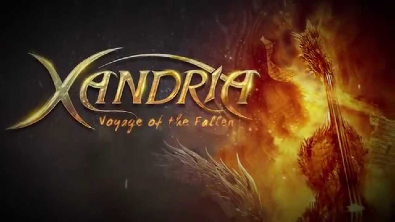 XANDRIA - Voyage Of The Fallen (Official Lyric Video) | Napalm Records