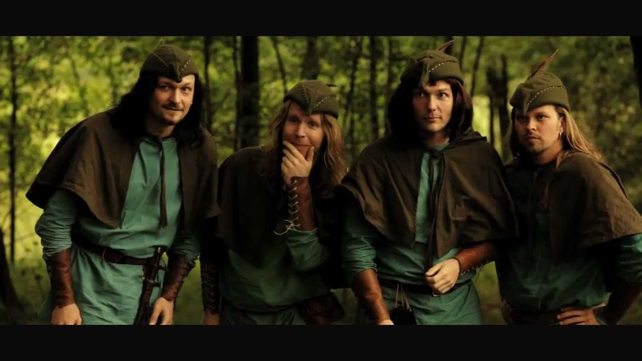 EDGUY - Robin Hood (OFFICIAL MUSIC VIDEO)