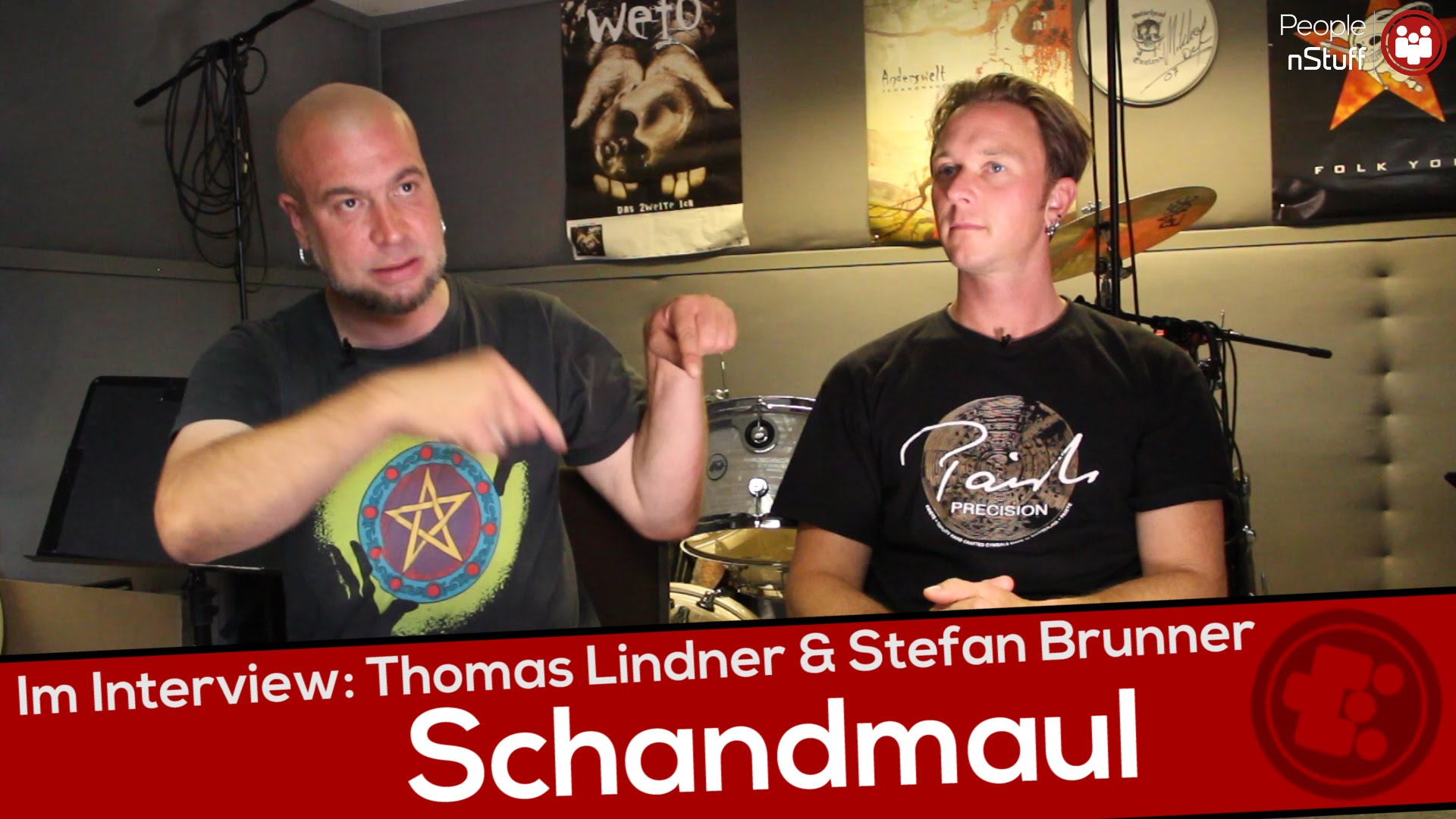 Music nStuff: Interview Schandmaul (Thomas Lindner & Stefan Brunner)