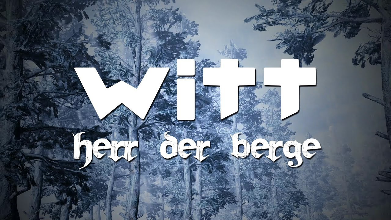 Joachim Witt - Herr der Berge (Lyric Video)