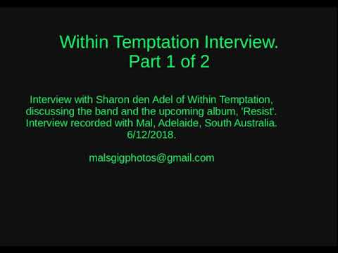 20181206 Within Temptation - Interview Part 1