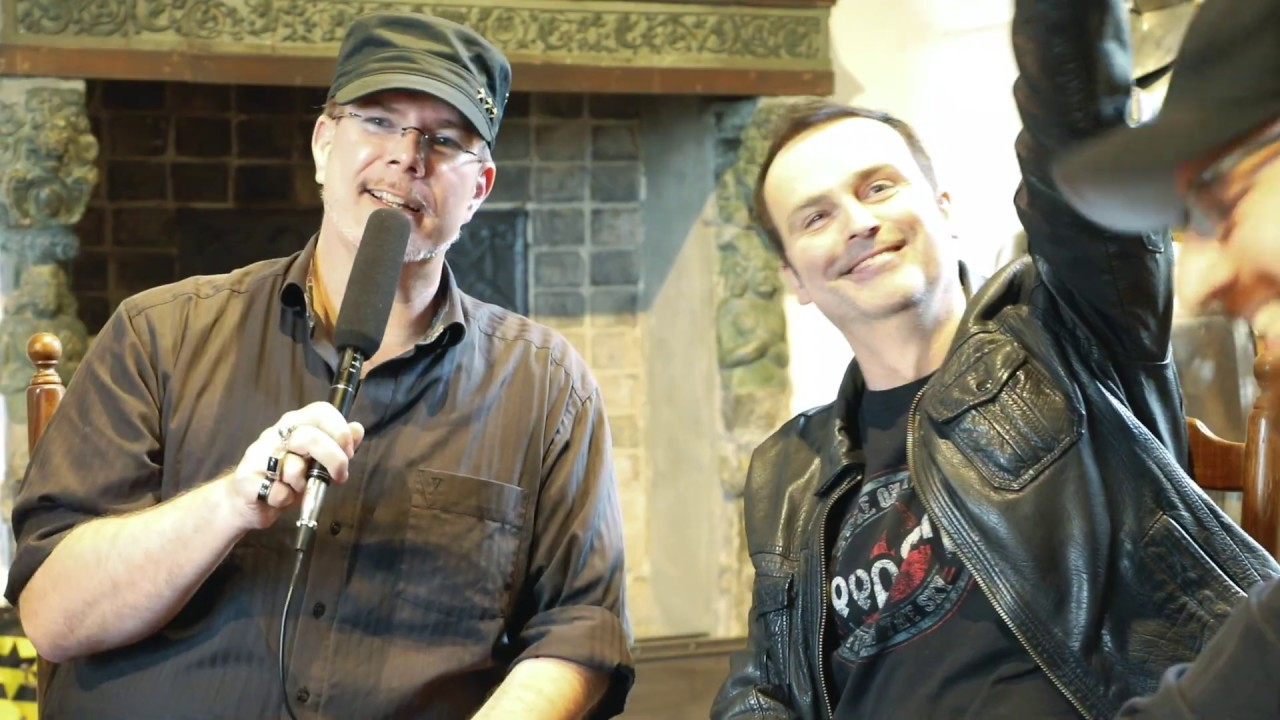 BLIND GUARDIAN TWILIGHT ORCHESTRA - Working With Author Markus Heitz (OFFICIAL INTERVIEW)