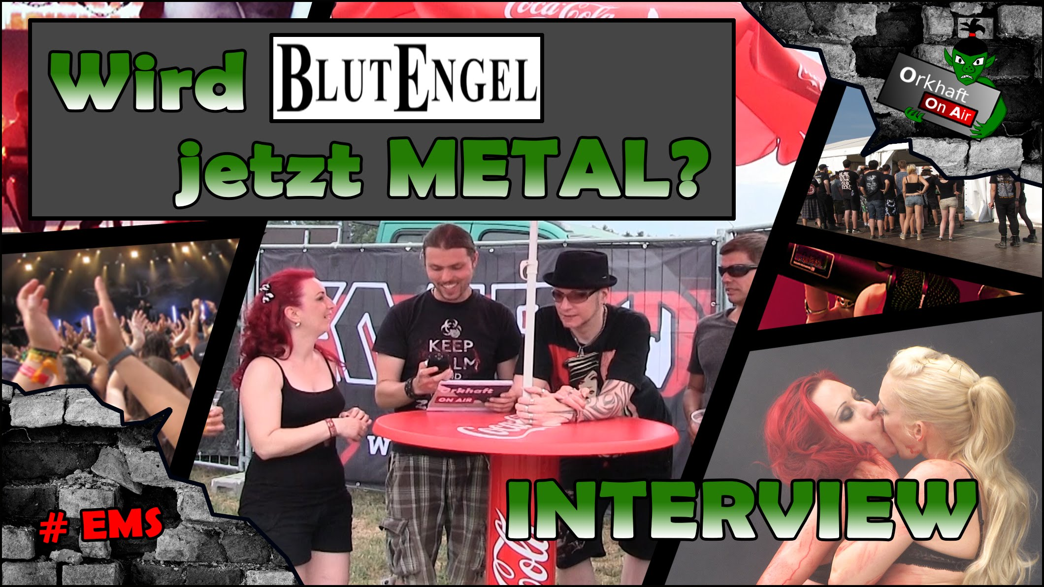 Blutengel das Interview - Summer Breeze - 2015