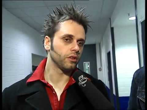 Oomph! - interview On a Dark Winter's Night Oberhausen, Germany,  27.12.2003