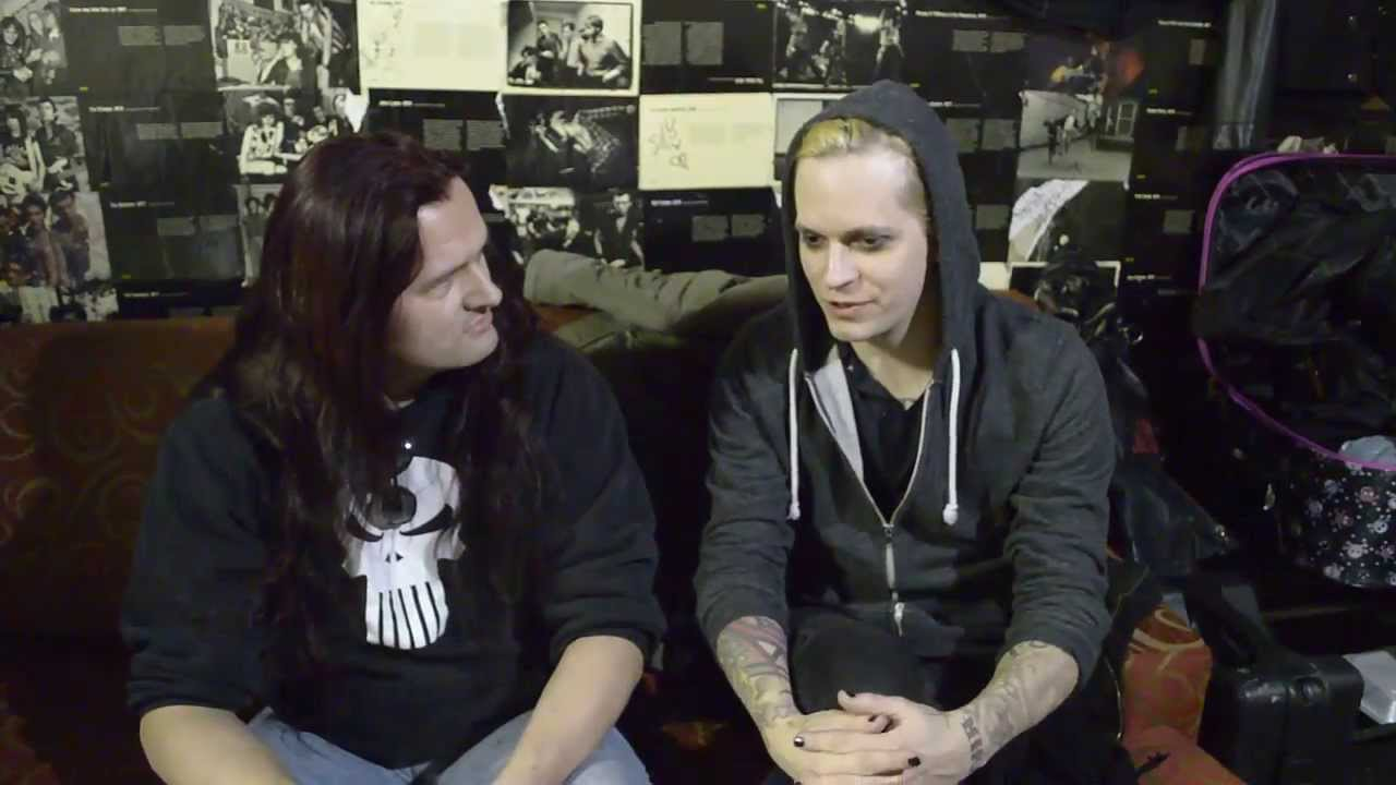Lord Of the Lost's first U.S. Interview in Chicago! (March 2014) HQ