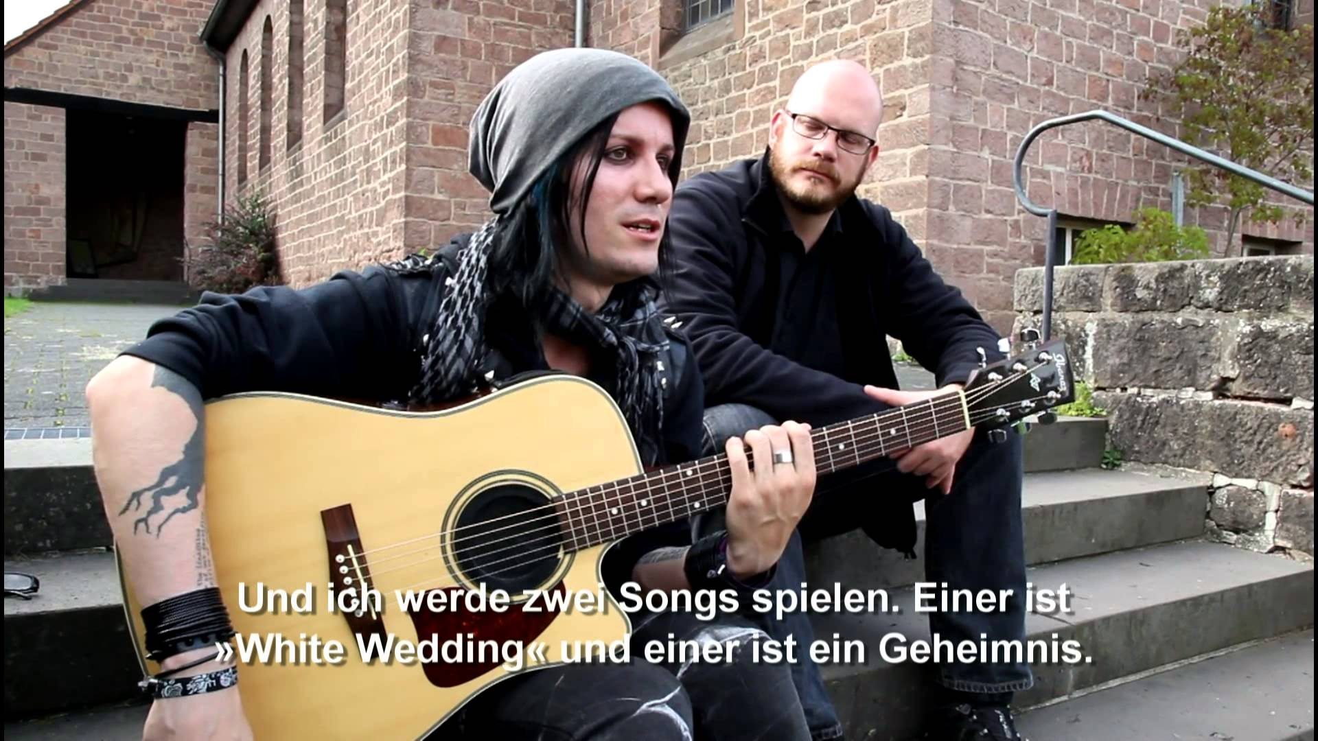 Lost Area Interview + Acoustic Special in Ottweiler 21.09.2013