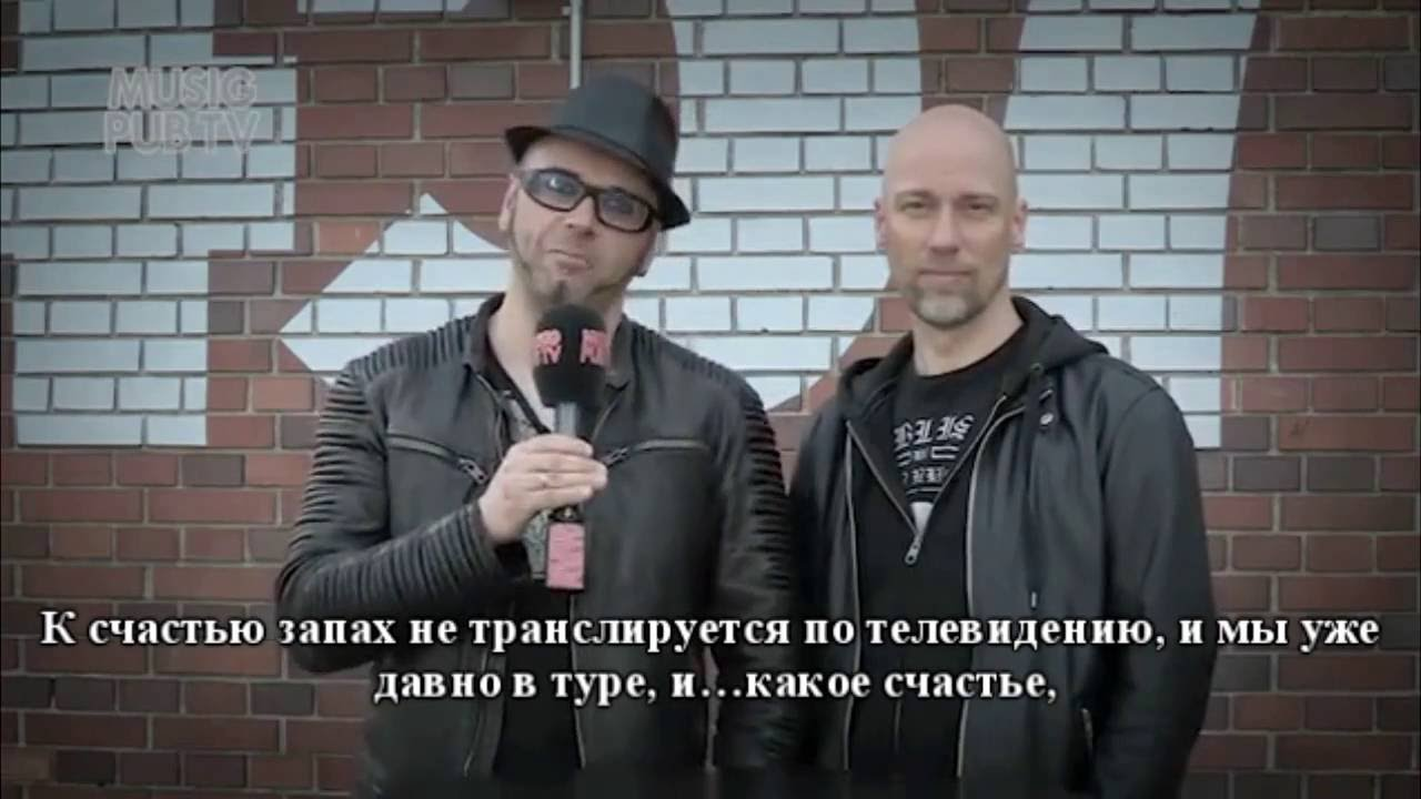 (Ru subs) 2016 Musig Pub, Interview mit Oomph! part 1