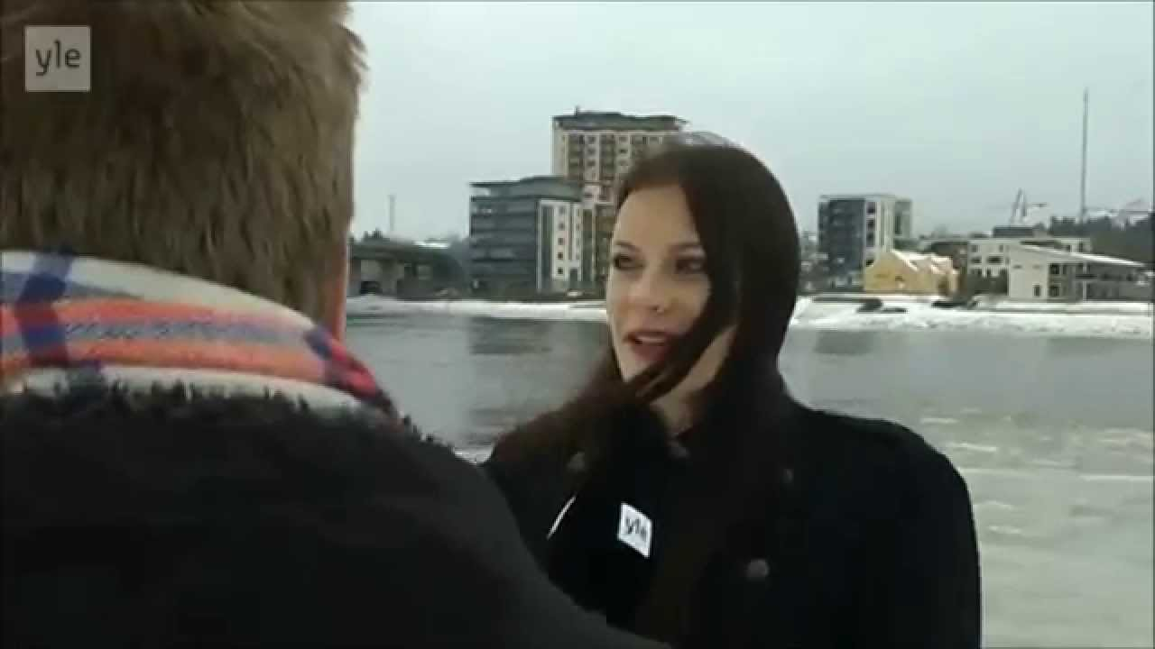 Nightwish Floor Jansen interview in Finland 15.12.2014 HD [subtitles]