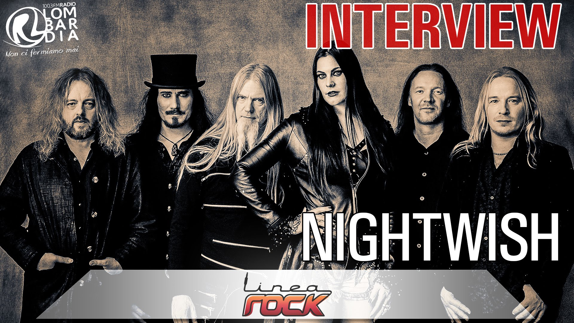 Nightwish - interview 2015 @Linea Rock - by Barbara Caserta