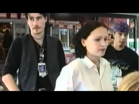 Nightwish with fans and soundcheck (Liperi 1999)