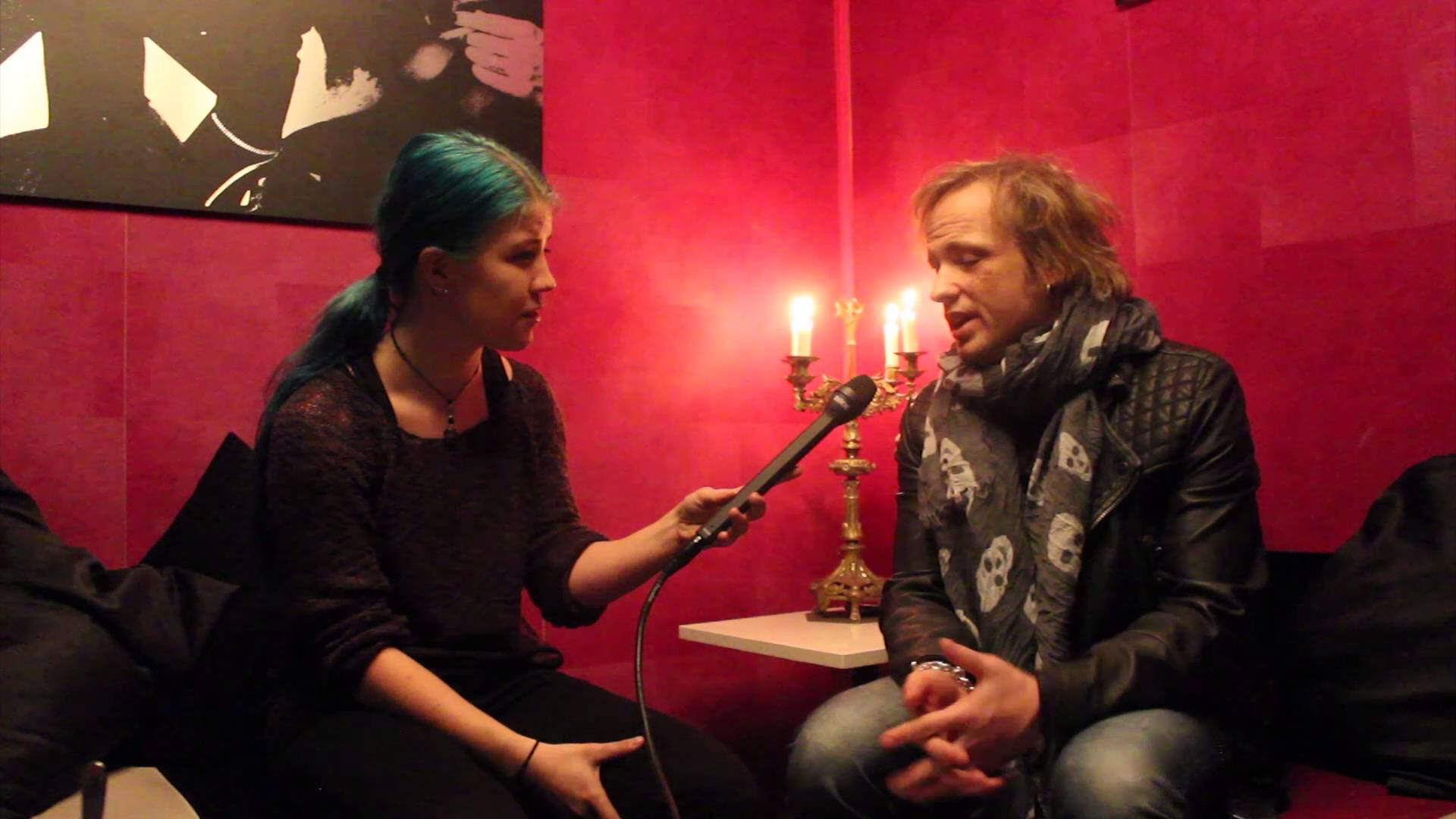 "Avantasia interview Tobias Sammet about ""Ghostlights"" 2016"