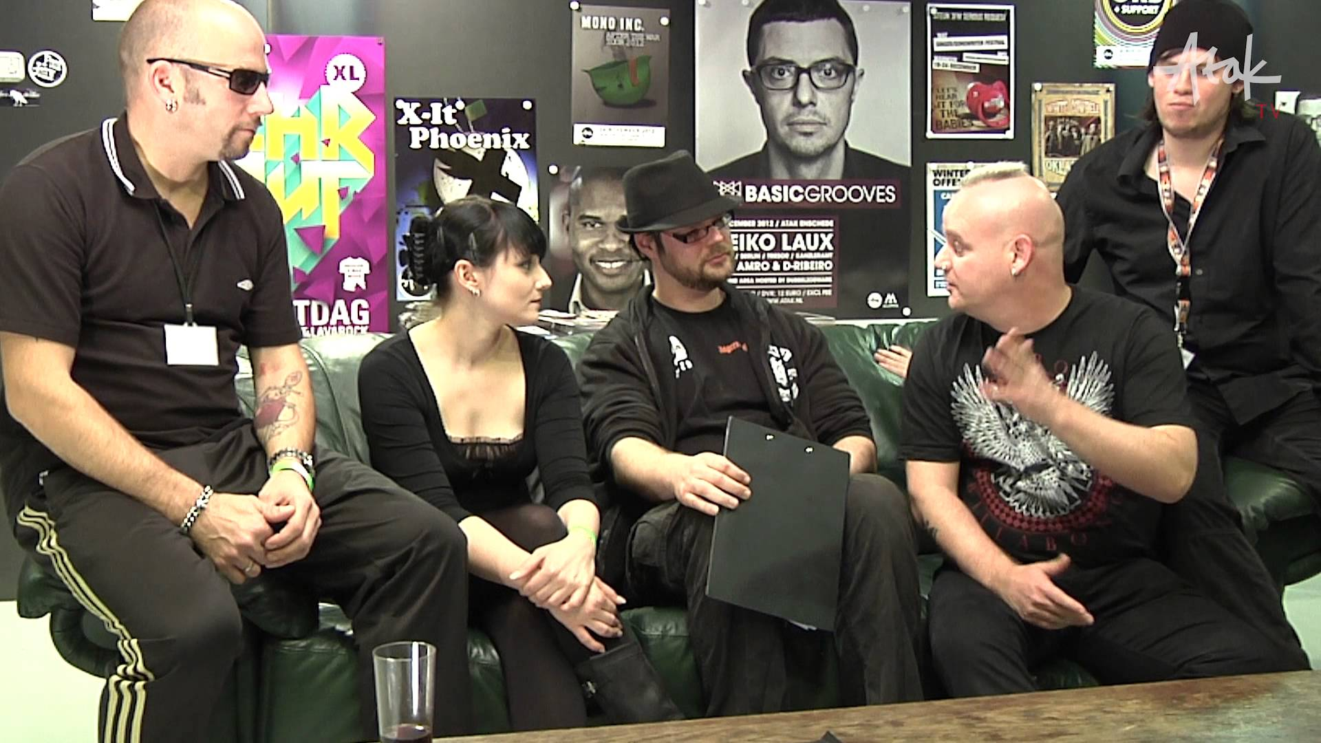 Atak TV - Interview MONO INC. - Gothic Queen - 24 November 2012
